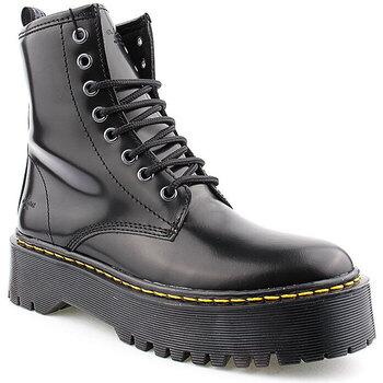 Sapatos Mulher Botas baixas Alex L Boot Lady Preto