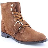 Sapatos Mulher Botas baixas Helena Mar L Ankle boots CASUAL Camel