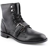 Sapatos Mulher Botas baixas Helena Mar L Ankle boots CASUAL Preto