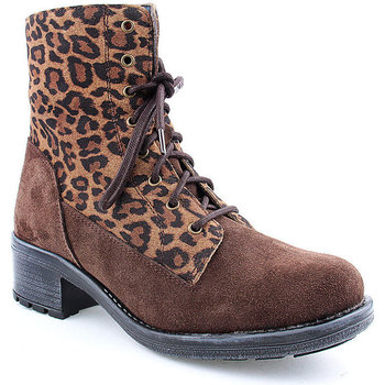 Sapatos Mulher Botins Walkwell L Ankle boots CASUAL Castanho