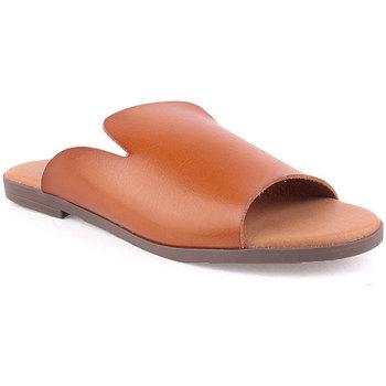 Sapatos Mulher Chinelos Lapierce L Slipper Swimming Camel