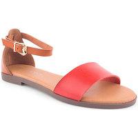 Sapatos Mulher Sandálias Lapierce L Sandals CASUAL Vermelho