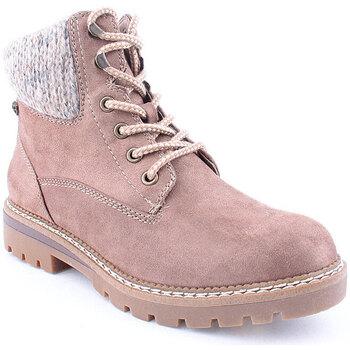 Sapatos Mulher Botas baixas Lapierce L Ankle boots Mountain Taupe