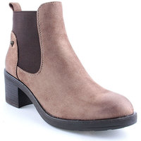 Sapatos Mulher Botins Lapierce L Ankle boots CASUAL Taupe