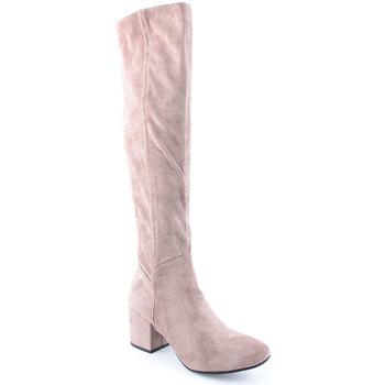 Sapatos Mulher Botas altas Lapierce L Boots Clasic Taupe