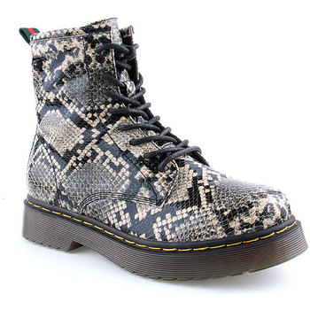 Sapatos Mulher Botas baixas Lapierce L Ankle boots Military Cobra