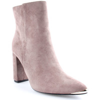 Sapatos Mulher Botins Lapierce L Ankle boots Taupe