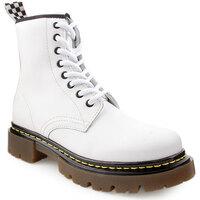 Sapatos Mulher Botins Flaj L Boots Military Branco