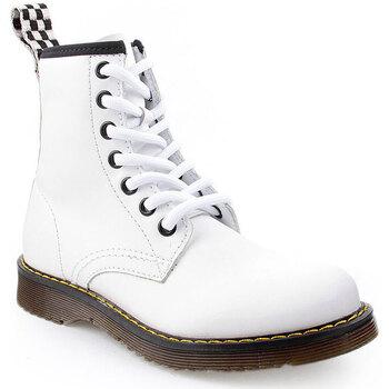 Sapatos Criança Botas Flaj K Boots Military Branco