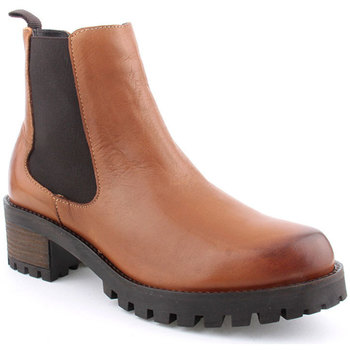 Sapatos Mulher Botins Kate Gray L Ankle boots CASUAL Camel