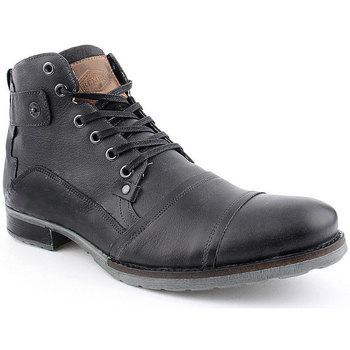 Sapatos Homem Botas baixas Invinci M Boot CASUAL Preto