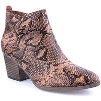Sapatos Mulher Botins Kamosa L Ankle boots Lady Castanho