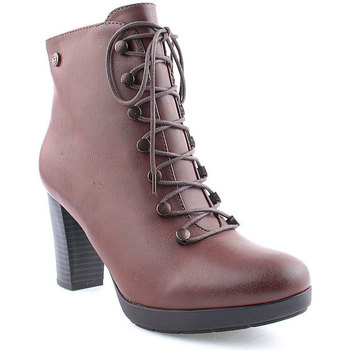 Sapatos Mulher Botins Berluskas L Ankle boots CASUAL Camel