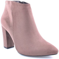 Sapatos Mulher Botins Berluskas L Ankle boots Clasic Taupe
