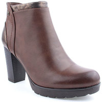 Sapatos Mulher Botins Berluskas L Ankle boots Clasic Camel