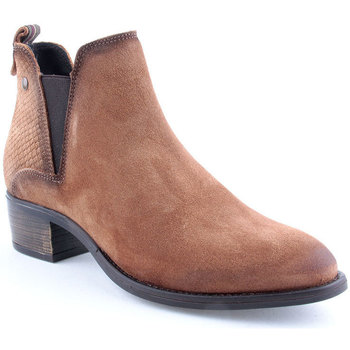 Sapatos Mulher Botins Oii! L Ankle boots Camel