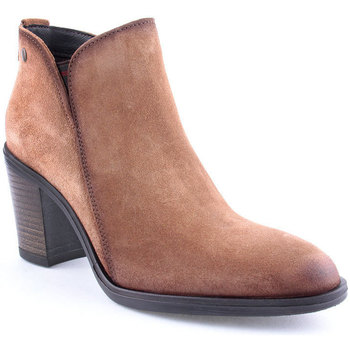 Sapatos Mulher Botins Oii! L Ankle boots CASUAL Camel