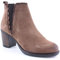 Sapatos Mulher Botins Oii! L Ankle boots CASUAL Taupe