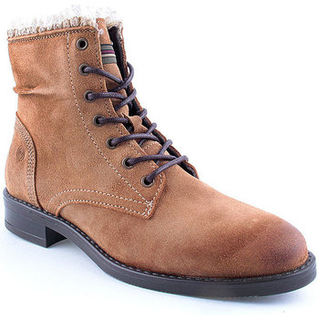 Sapatos Mulher Botas baixas Oii! L Ankle boots CASUAL Camel