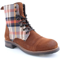 Sapatos Mulher Botas baixas Laifshoes L Ankle boots CASUAL Camel
