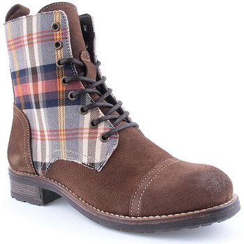 Sapatos Mulher Botas baixas Laifshoes L Ankle boots CASUAL Taupe