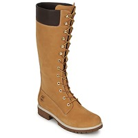 Sapatos Mulher Botas Timberland WOMEN'S PREMIUM 14IN WP BOOT Conhaque