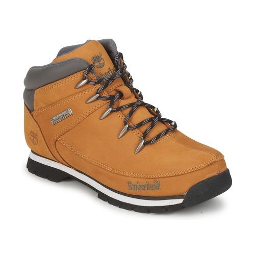 Sapatos Rapaz Botas baixas Timberland EURO SPRINT Conhaque