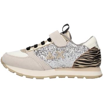 Sapatos Rapariga Sapatilhas Sun68 Z41411 Prata