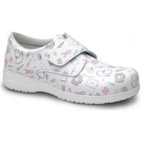Sapatos Mocassins Feliz Caminar ZAPATO SANITARIO UNISEX ATOM Branco