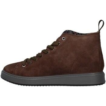 Sapatos Homem Botas baixas IgI&CO 8124722 Castanho