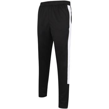 Textil Homem Calças de treino Finden & Hales LV881 Preto/branco