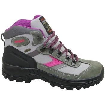 Sapatos Mulher Sapatilhas de cano-alto Grisport Grigio Scamosciato Verde