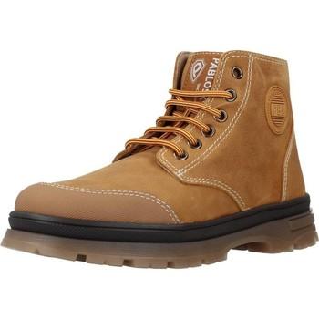 Sapatos Rapaz Botas baixas Pablosky 503081 Marron