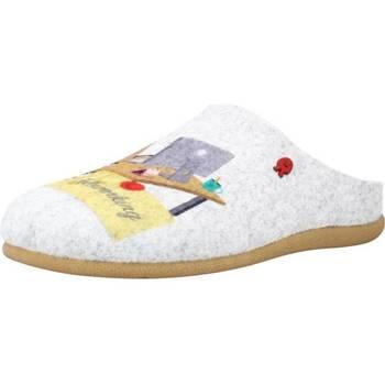 Sapatos Mulher Chinelos Hot Potatoes 64634G Cinza