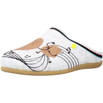 Sapatos Mulher Chinelos Hot Potatoes 64638G Cinza