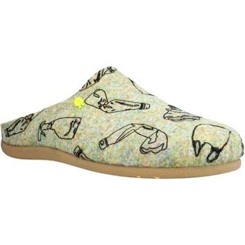 Sapatos Homem Chinelos Hot Potatoes 64660G Cinza