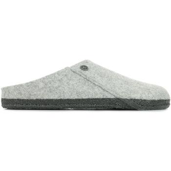 Sapatos Homem Chinelos Birkenstock Zermatt Rivet Cinza