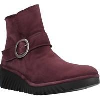 Sapatos Mulher Botins Fly London P501334003 Vermelho