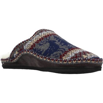 Sapatos Homem Chinelos Nordikas 2502 Cinza