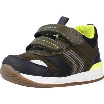 Sapatos Rapaz Sapatilhas Geox B RISHON BOY Verde