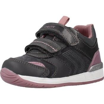 Sapatos Rapariga Botas Geox B RISHON GIRL Cinza