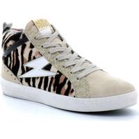 Sapatos Mulher Sapatilhas de cano-alto Semerdjian  Beige