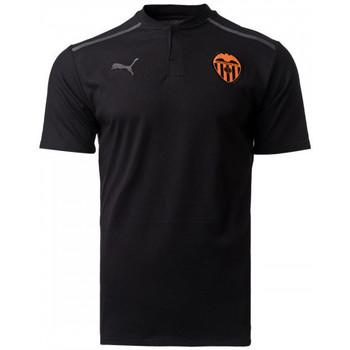 Textil Polos mangas curta Puma Valencia CF 2021-2022 Puma Black-Asphalt