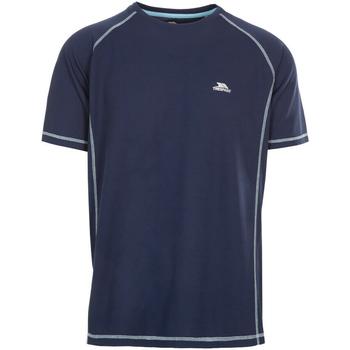 Textil Homem T-Shirt mangas curtas Trespass Albert Marinha Negra