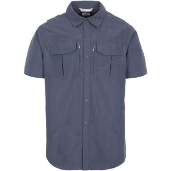 Textil Homem Camisas mangas curtas Trespass  Cinza Escuro