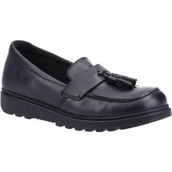 Sapatos Rapariga Mocassins Hush puppies  Preto