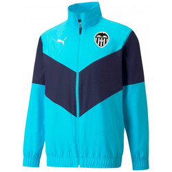Textil Casacos fato de treino Puma Valencia CF Pre-Match 2021-2022 Blue atoll-Peacoat