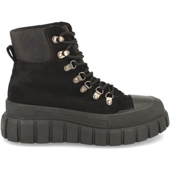 Sapatos Mulher Sapatilhas de cano-alto Buonarotti 2CD-1471 Negro