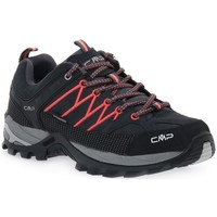 Sapatos Mulher Sapatos de caminhada Cmp Rigel Low Preto