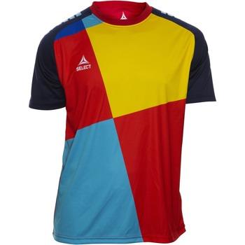 Textil Rapaz T-Shirt mangas curtas Select T-shirt enfant  Player Pop Art bleu/jaune/rouge